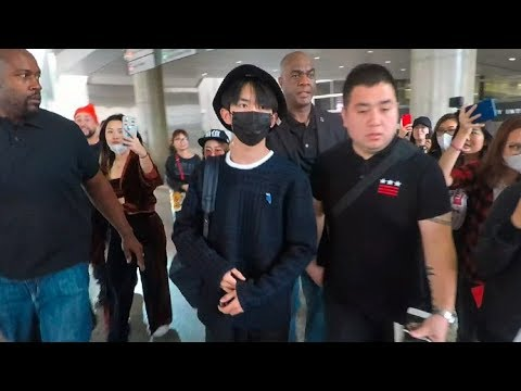 Chinese Pop Star Jackson Yi Sparks Fan Chaos Upon Arrival In L.A.
