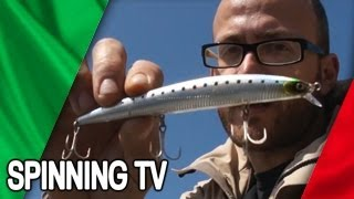 MINNOW: ESCHE ARTIFICIALI PER LA PESCA SPORTIVA IN MARE - SPINNING TV