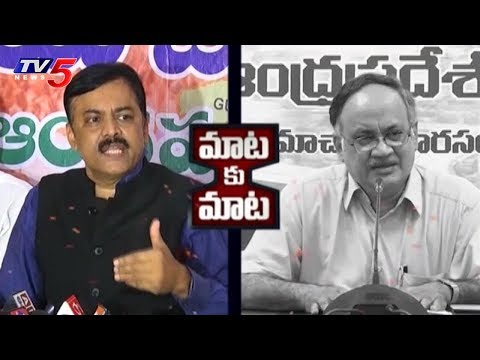 TDP VS BJP | GVL Narasimha Rao Vs Kutumba Rao | TV5 News