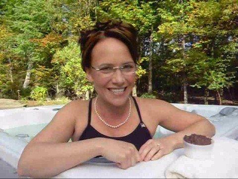 Sarah Palin Talkin' Dirty in a Hot Tub - YouTube