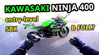 Motovlog#19 | Kawasaki Ninja 400 Malaysia | Test Ride Short Review walkaround