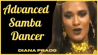 ADVANCED SAMBA DANCE ROUTINE LESSON BY DIANA PRADO