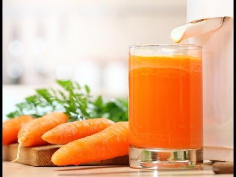 Как сделать морковный сок в домашних условиях - рецепт