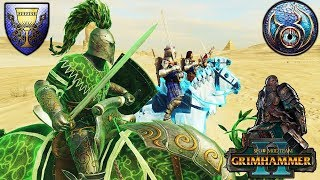 The Lost Sons of Bretonnia vs. the Minions of Tzeentch - SFO Grimhammer - Total War Warhammer 2