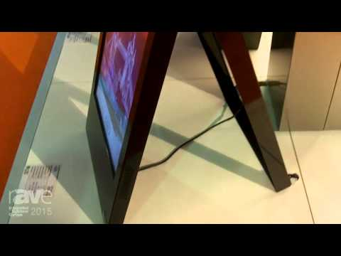 ISE 2015: Fida Highlights the Sidewalk Indoor Digital Signage Display