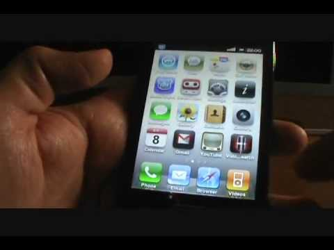 Rom iOS5 Black - Galaxy Ace S5830/B/L (EspañolMX)