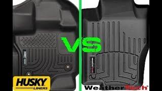 WeatherTech vs. Husky Liner Floor Mats