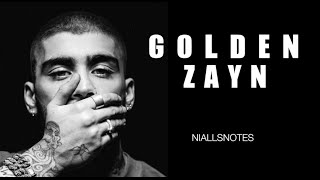GOLDEN - ZAYN Lyrics (Subtitulada al español)