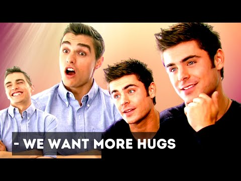 Zac Efron wants more hugs (Neighbors)