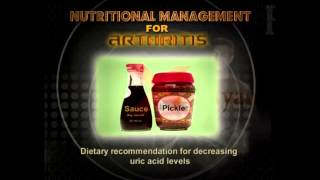 Nutritional Management for Arthritis in English - Diet Tips,  Nutrition Supplements