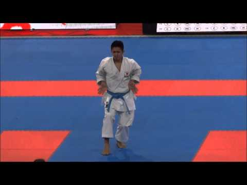 Kata Kururunfa By Ryo Kiyuna - 21st Wkf World Karate Championships video