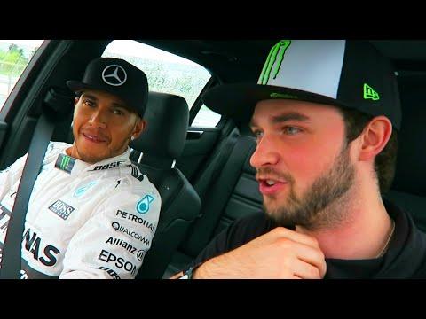 Ali-A & Lewis Hamilton - RACING VLOG!