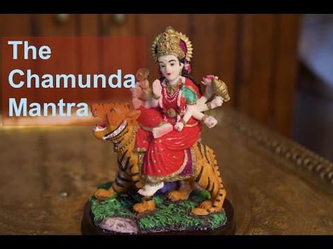 How To Chant The Chamunda Mantra For Protection And Destruction Of Negativity video