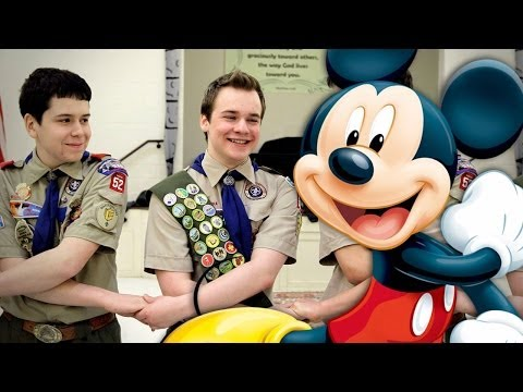 Disney Stops Boy Scout Funding Because of Anti-Gay Policy klip izle