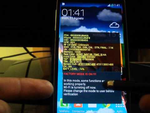 COPIAR Y RESTAURAR CARPETA EFS - GALAXY S4 I9500