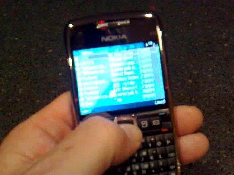 Nokia listen to email service on Nokia E71