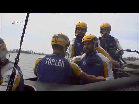 America's Cup Racing, NZ Defeat Artemis, June 12 2017