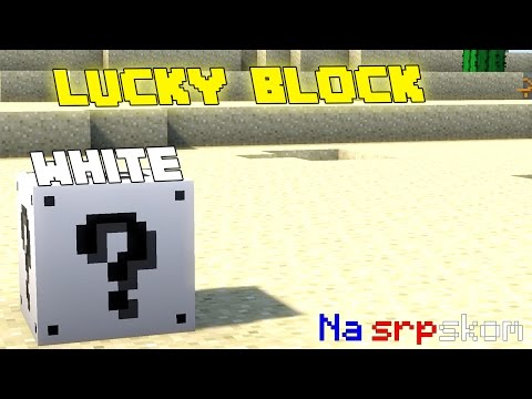 Minecraft Mod Review - Lucky Block White (Na srpskom)