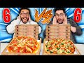 MURRY vs GIAMPYTEK vs 6 PIZZE! Chi ne mangia di più?