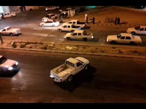 تفحيط شباب الخالدية ع الزيت بشارع الثلاثين بالخرج