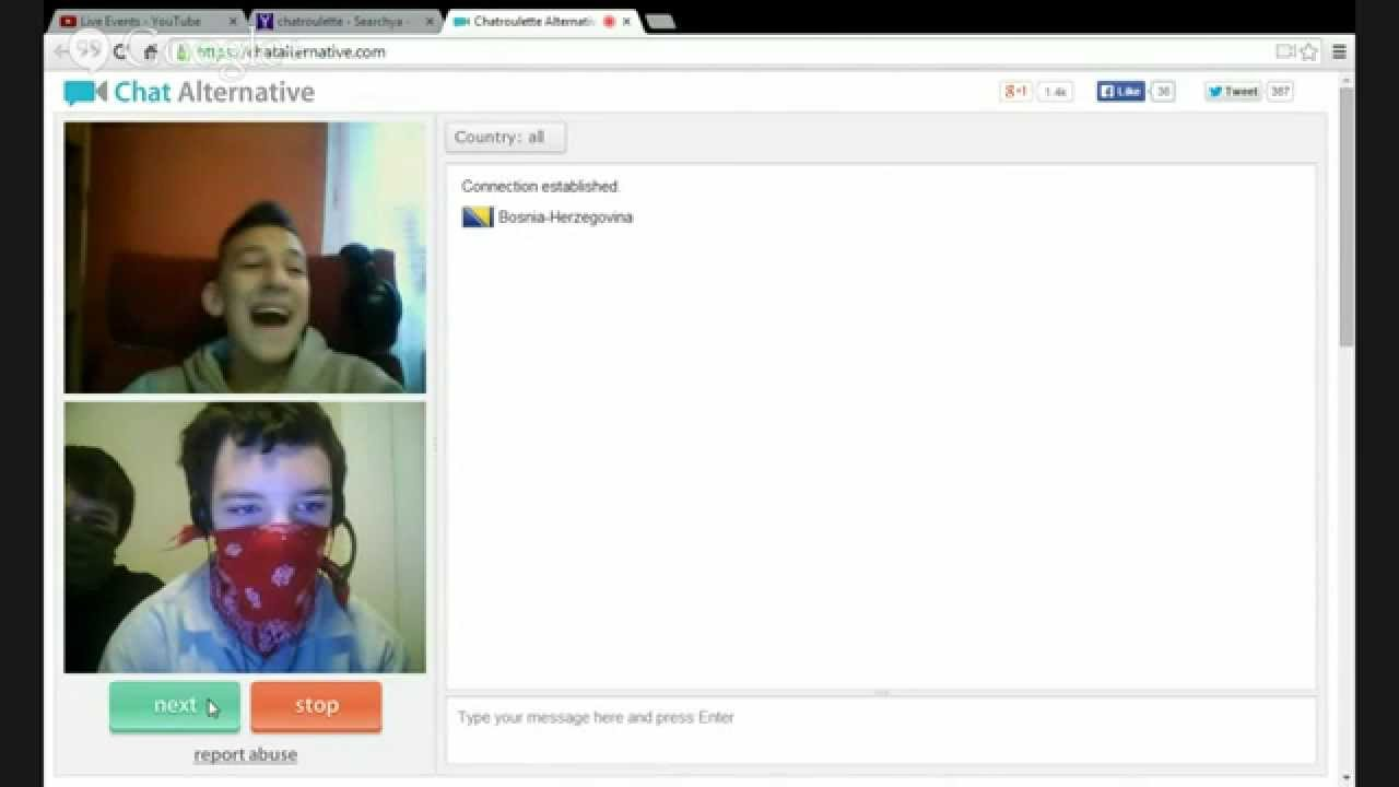 chatroulette com alternative