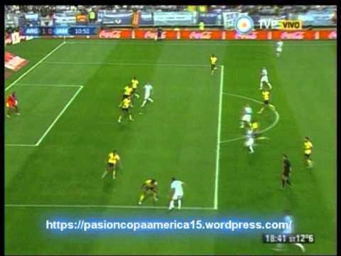 Argentina 1 Jamaica 0 (Relato  Diego Osorio)  Copa America 2015