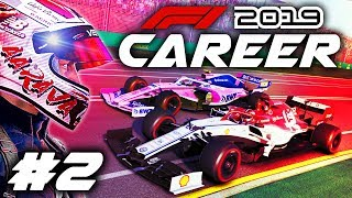 F1 2019 CAREER MODE Part 2: OUR FIRST F1 SEASON BEGINS! Australian Grand Prix!