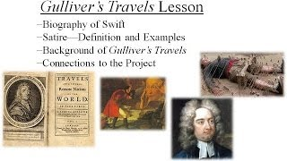 Jonathan Swift, Satire, and Gulliver's Travels Lesson