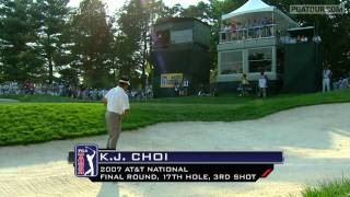 Top 10 Greenside Bunker Shots on the PGA TOUR