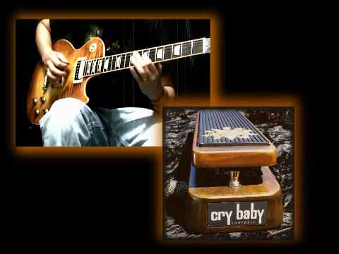 Dunlop JC95 Jerry Cantrell Signature Cry Baby Wah Pedal Demo