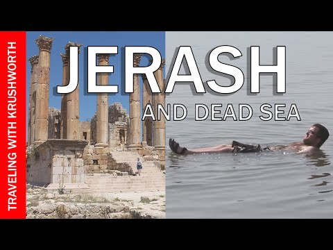 Visit Dead Sea Jordan Tourism | Top things to do (Jerash Jordan) | Travel Guide Video