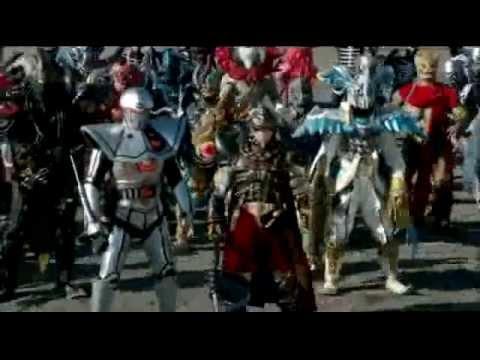 Crow Zero - Power Rangers And Kamen Rider Version video