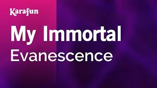 Karaoke My Immortal - Evanescence *