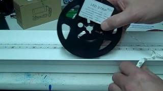 LED Strip Light | Convert a 4ft  Flourescent Shop Light To LEDs