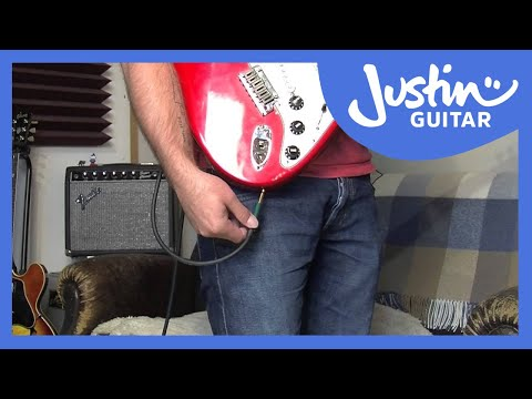 Guitar Quick Tip #1: Secure Your Cable (Guitar Lesson QT-001)