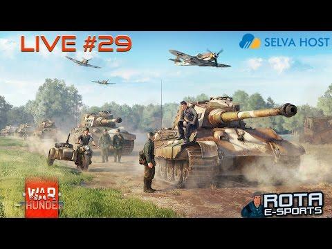 War Thunder LIVE #29 - Jogando com amigos