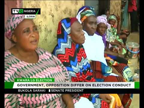 Kwara govt, opposition differ on LG election conduct