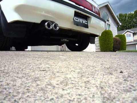 Mugen Civic EF3 Exhaust sound clip