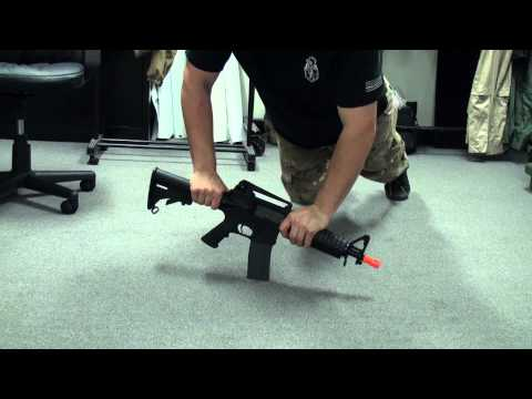 Airsoft GI - G&G GR16 CQB Carbine Light AEG Stress Test