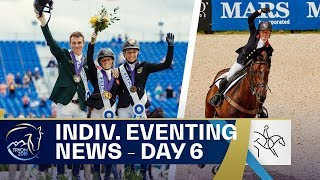 Canter vs Klimke - Individual Eventing News | Day6 | FEI World Equestrian Games 2018