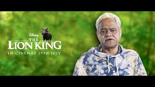The Lion King | Pumbaa - Sanjay Mishra | Hindi | In Cinemas July 19