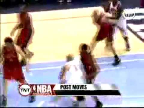 BasketBall Fundamentals Carlos Boozer Low Post Moves Video