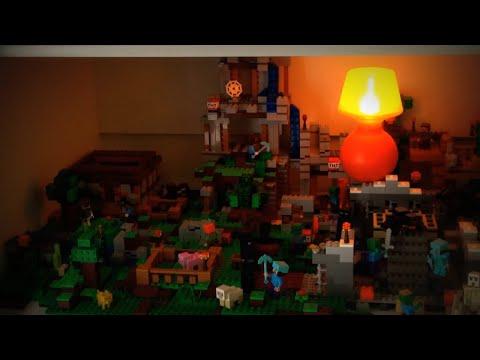 LEGO Minecraft  2017 наборы новинки Обзор видео самоделка Лего Майнкрафт