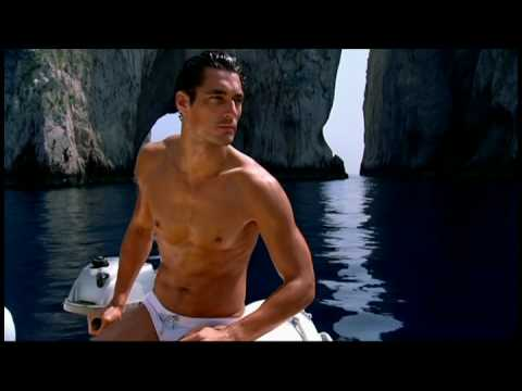 Woman: Marija Vujovic Man: David Gandy.