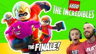 Final Showdown!!! LEGO The Incredibles Gameplay #12 | KIDCITY