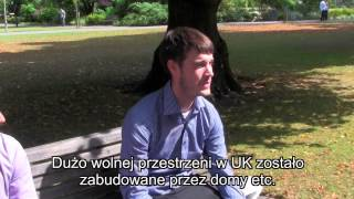 Co myślą o Polakach w Anglii - What people in England think about Polish guys.