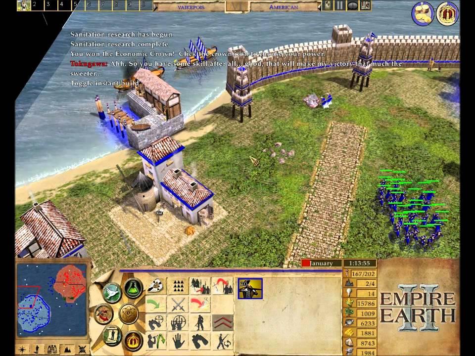 Empire Earth 2 II Random Gameplay YouTube