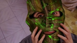 The Mask first transformation (Test new special effect)