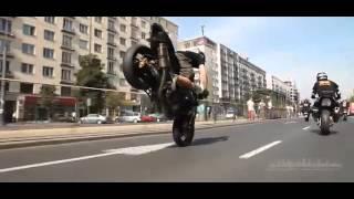 Street racing and stunts Suzuki GSX R