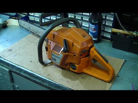 Engine Rebuild On Husqvarna 55 & 51  Chainsaw Part 1/3